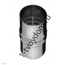 Адаптер для котла 0.8мм нерж d 115