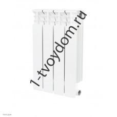 STOUT Space 500 4 секции радиатор биметаллический