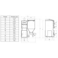 Автоматический котел Koloss Auto Compact Duo (Колосс Авто Компакт Дуо) 15 кВт