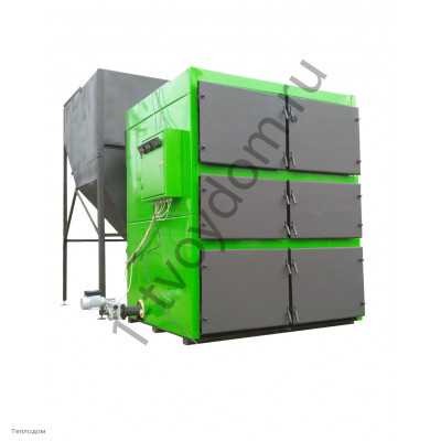 Автоматический твердотопливный котел ВСКЗ Green Eco DUO 600 кВт