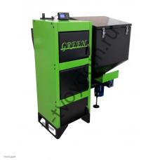 Автоматический твердотопливный котел ВСКЗ модель Грин Эко (Green Eco) 14 кВт